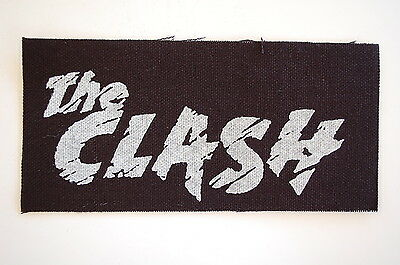 The Clash Cloth Patch Punk Rock Sex Pistols Ramones The Jam (CP7)