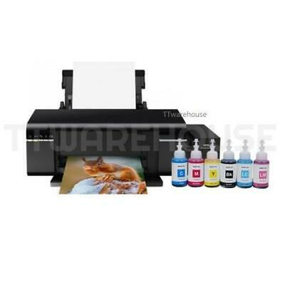 NEW EPSON L805 6-Color Wireless Inkjet Photo Printer Ink Tank System ITS (TW)