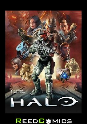 HALO VOLUME 1 LIBRARY EDITION HARDCOVER New Hardback *368 PAGES*