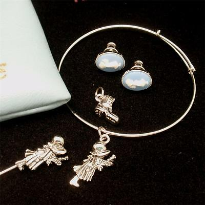 Holly Hobbie Jewelry Collection Sterling Silver by Lang Original Pouch