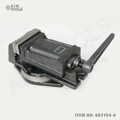 4021544 100MM Precision Swivel Rotating Base Machine Bench Lathe Milling Vice