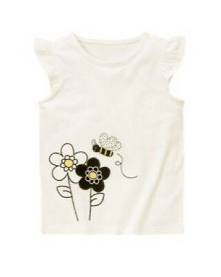 Gymboree Bee Chic Flower Shirt Top NWT 5