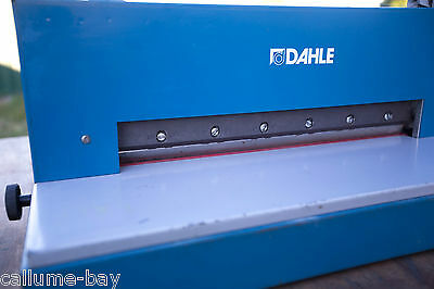 Dahle 545 Paper Guillotine Stack Cutter, Trimmer A3 Size 500 Sheets GOLD COAST