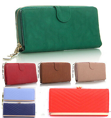 Womens Faux Leather Purses Wallet Desinger Fashion Quality Purse Bag Coin 03
