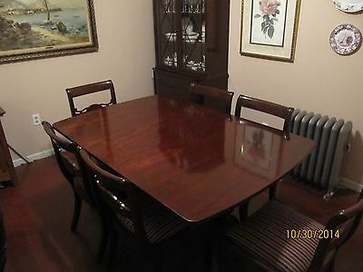 Vintage Mahogany Dining Room Set