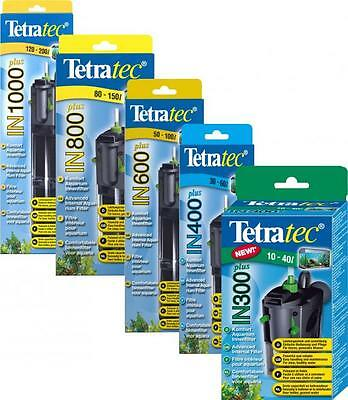 Tetratec In Plus Internal Aquarium Filter 300,400,600,800,1000 Tetra Fish Filter