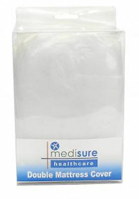 Medisure Waterproof Double Mattress Cover- Protector, PVC, Incontinence