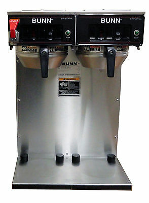 Bunn CWTF TWIN APS Dual Airpot Commercial Coffee Brewer CONTACT FOR SHIPPING