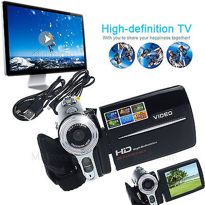 Mini LCD Bildschirm 16MP 16X Digital Videokamera Camcorder HD 1080P DV DVR Zoom