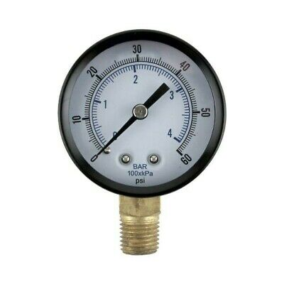 Replacement Regulator Pressure Gauge 0-60 PSI, Kegerator Parts, Draft Beer CO2