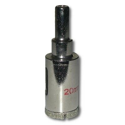 20mm Diameter Diamond Coated Core Drill Bit and Hole Saw