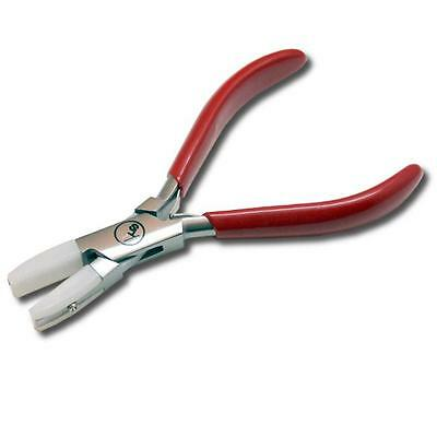 "5.5 inch Double Nylon Covered Flat Jaw Pliers With 10mm (3/8"") Wide Plastic Jaws"