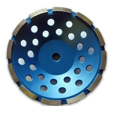 7 inch Single Row Grinding Cup Wheel, 5/8-11 Thread Hole,For Concrete Grit 30~40