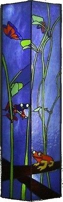 Frogs, Original Stained Glass Art By Robert