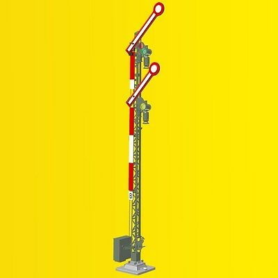 Viessmann 9501 O gauge Form main signal with two wings coupled