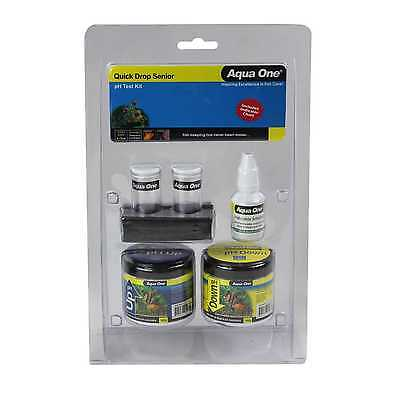 Aquarium Quick Drop Senior pH Test Kit 92001 Fish Tank Aqua One
