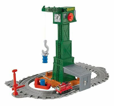 New Fisher-Price Thomas & Friends Take-n-Play Cranky Docks Toy Playset 3+