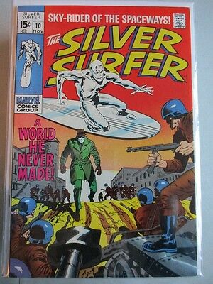 Silver Surfer Vol. 1 (1968-1970) #10 NM-