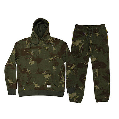 Navitas Apparel Carp Fishing Camo Hoody & Jogger Combo *All Variations*
