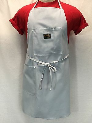 NEW Unisex STAN RAY Powder Blue Shop Apron 2-pocket Made in USA
