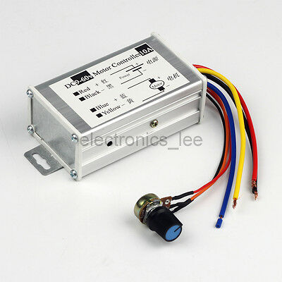 DC 12V 24V 36V 48V 60V  600W PWM Driver Board Motor Speed Controller Regulator