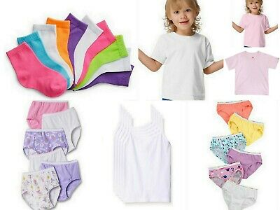 30 PC Baby Girl Panties Cami T-Shirt Socks Lot Bundle Toddler Size 2T 3T 4T NWT