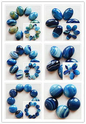 Lovely Blue Onyx Agate CAB CABOCHON Choose Your Like L5-18