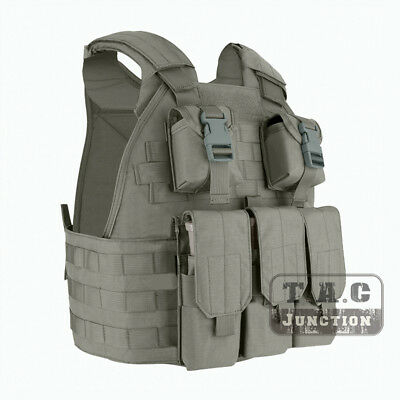 Emerson Tactical Compact High Speed Plate Carrier SPC Vest w/ Magazine Pouch