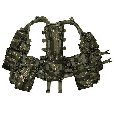 Gilet Tactique Paintball Tiger Stripes Tu Paintball Airsoft Camouflage