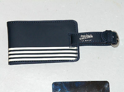 JEAN PAUL GAULTIER LE MALE Luggage Tag, Travel Tags, Duffle Gym Bag Tag, NEW