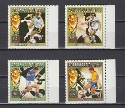 s7243) MALI 1998 MNH** World Cup Football'98- CM Calcio 4v.