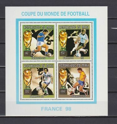 s7249) MALI 1996 MNH** World Cup Football'98- CM Calcio S/S