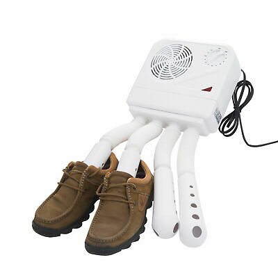 HOMCOM Shoe Boots Dryer Electric Blowdryer Portable Heated Warmer Pants Gloves