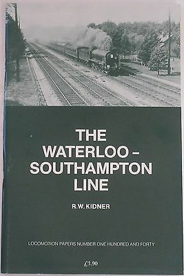 WATERLOO SOUTHAMPTON MAINLINE Steam Railway History LSWR London & South Western