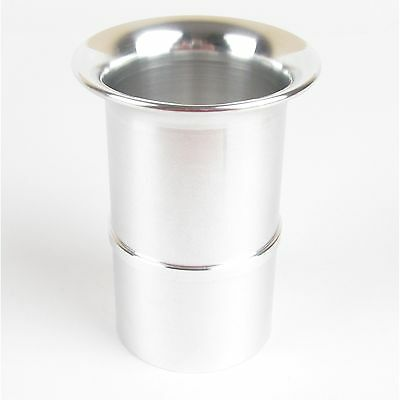 Weber 45 DCOE slot in polished alloy trumpet ram pipe stack 50mm long UK made