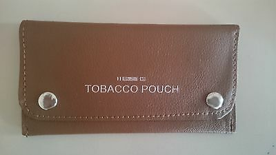 Good Quality Soft Leather Tobacco Pouch Fully Lined NEW TAN BROWN