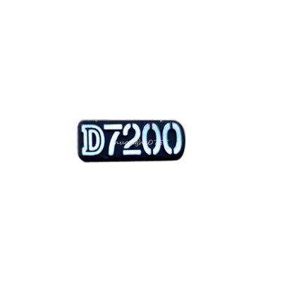 ORIGINAL NAME PLATE Badge Replacement for NIKON D7200 SRL Camera Repair Part