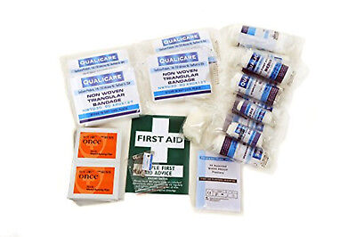 Qualicare First Aid Kit HSE 1-10 Person Refill-Workplace, Home, Travel, Office