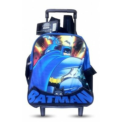 Batman Superhero Movie School Bag Rucksack Backpack Brand New Gift