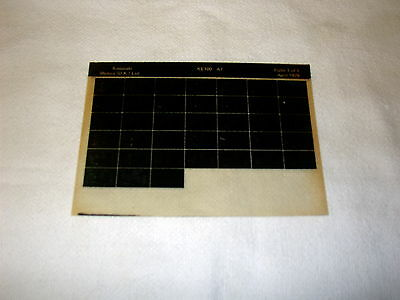 Kawasaki Ke100 Ke 100 A7  Gen Part Catalogue Microfiche