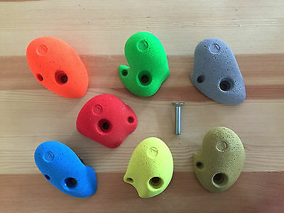 10 Easy Children's Climbing Holds - Fixings Included