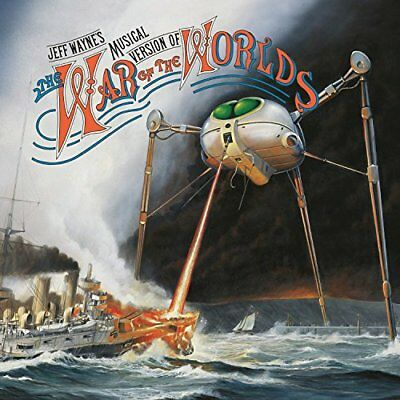 Jeff Wayne - The War Of The Worlds [CD] Sent Sameday*
