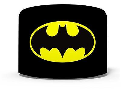 "BATMAN LOGO SUPERHEROES CEILING LIGHT LAMP LIGHT SHADE 11""  black  FREE  P & P"