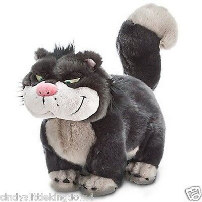 New Disney Store Cinderella Lucifer The Cat Soft Plush Toy 17""