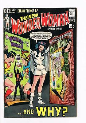 Wonder Woman # 191  Old to New...and Why ?  grade 5.5 scarce hot book !!