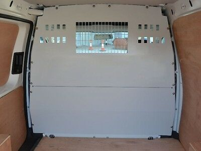 Van Guard VW Caddy 2004-On Full Punched Bulkhead Replaces Factory Fitted Bh