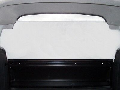 Van Guard Vauxhall Corsa 2007-2015 Top Half Solid Bulkhead Safety Protection
