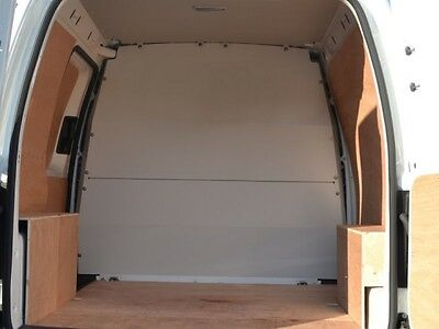 Van Guard VW Caddy 2004-On Full Solid Bulkhead Replaces Factory Fitted Bh