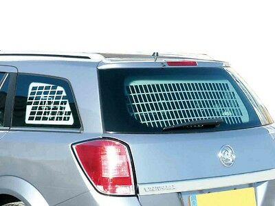 Van Guard Opel Astra Security Kit Side Tailgate Grill Top Half Punched Bulkhead