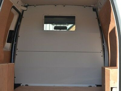 Van Guard VW Caddy 2004-On Full Bulkhead With Window Replaces Factory Fitted Bh
